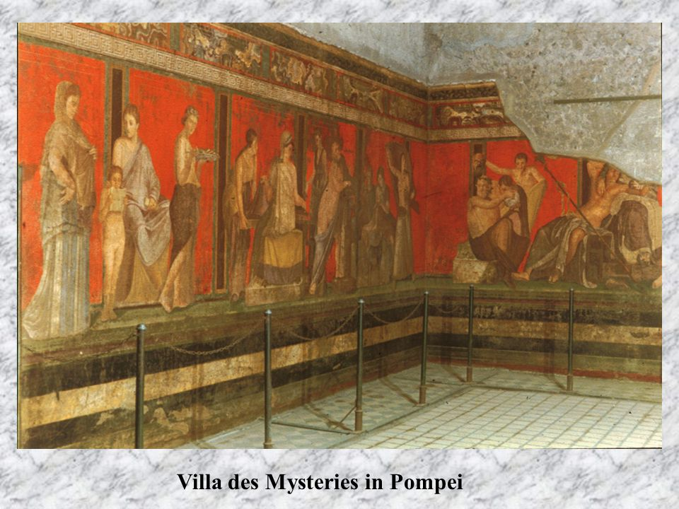 Villa des Mysteries in Pompei