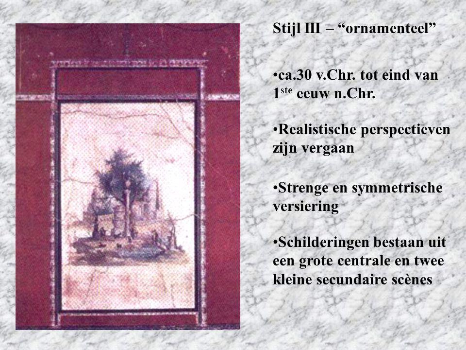 Stijl III – ornamenteel