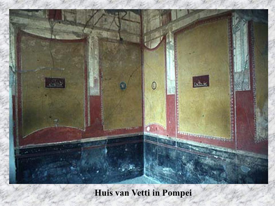 Huis van Vetti in Pompei