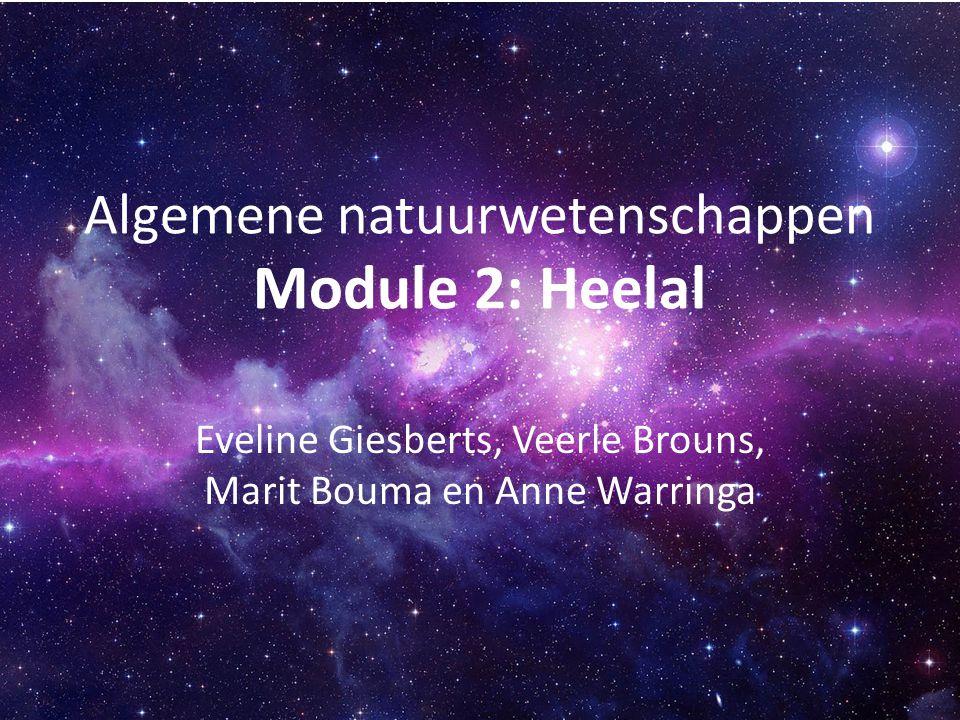 Algemene natuurwetenschappen Module 2: Heelal