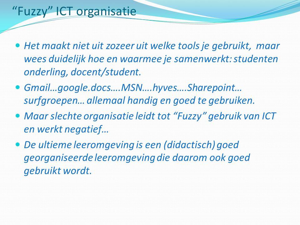 Fuzzy ICT organisatie