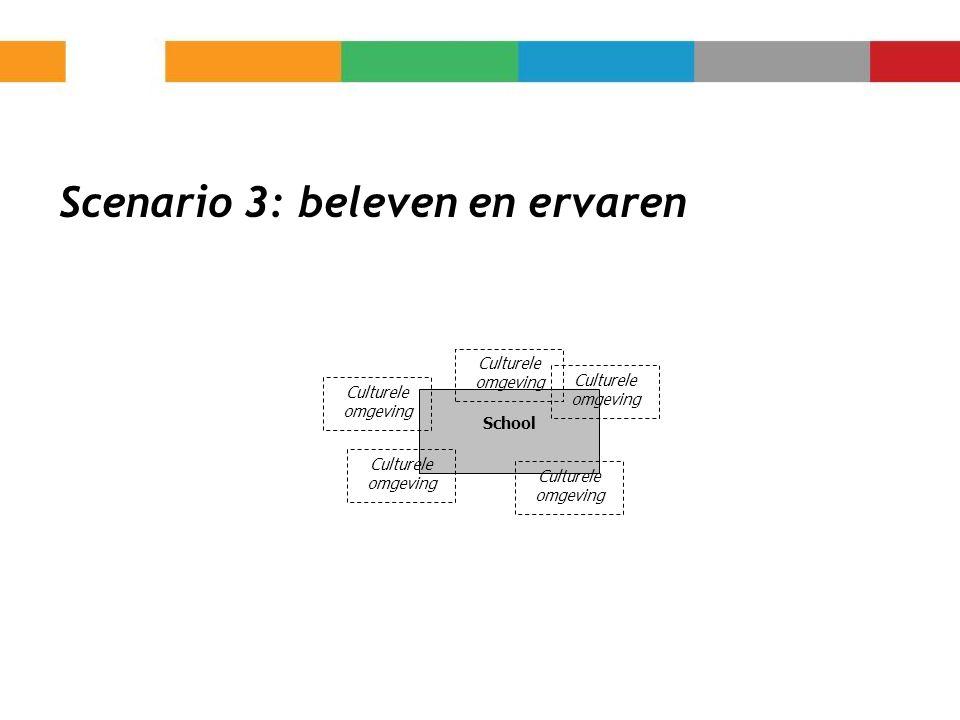 Scenario 3: beleven en ervaren