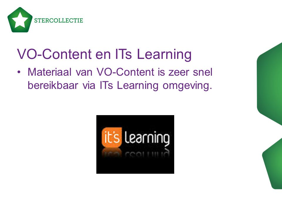 VO-Content en ITs Learning