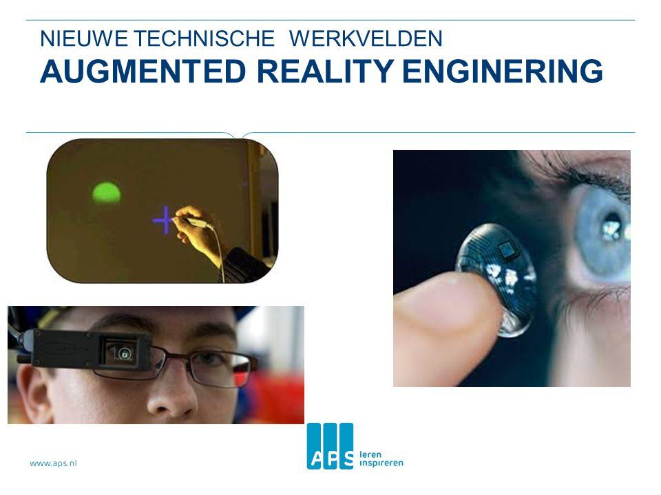 Nieuwe technische werkvelden Augmented Reality Enginering