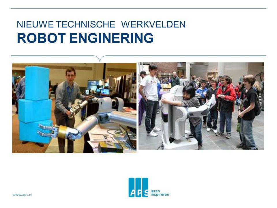 Nieuwe technische werkvelden Robot Enginering