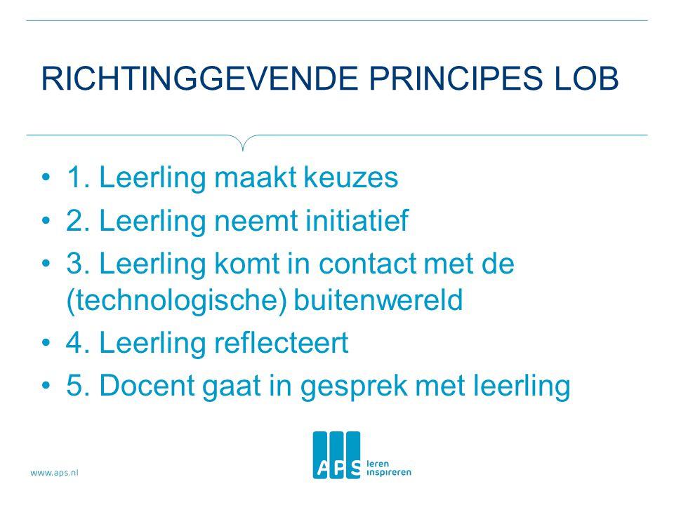 Richtinggevende principes LOB