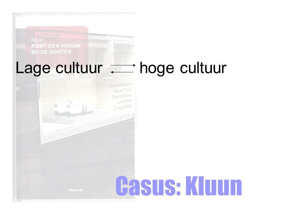 Lage cultuur hoge cultuur