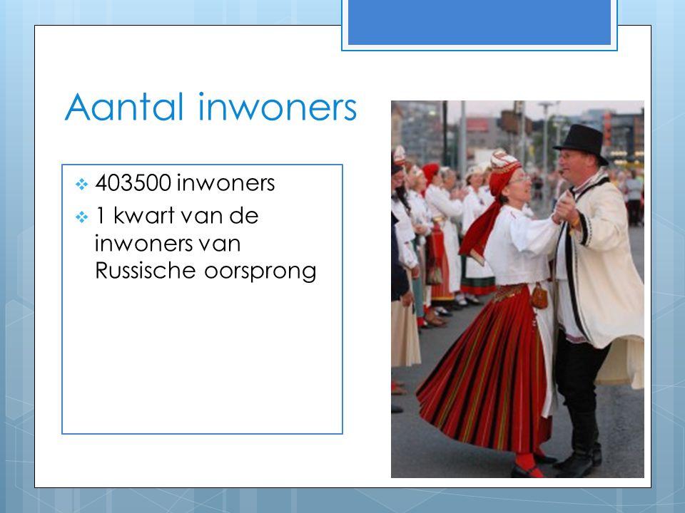 Aantal inwoners 403500 inwoners