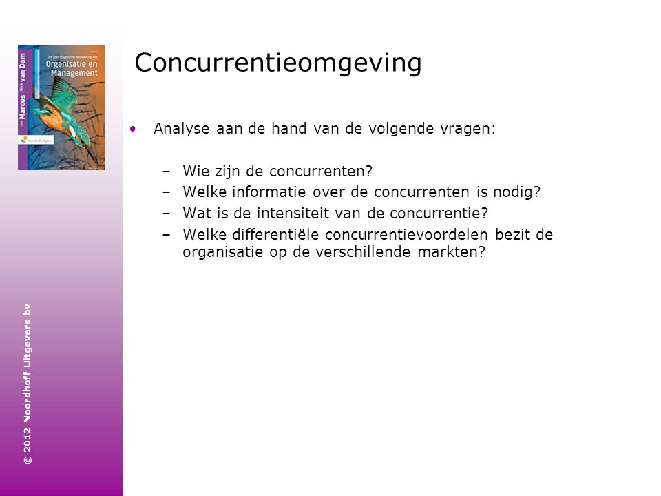 Concurrentieomgeving