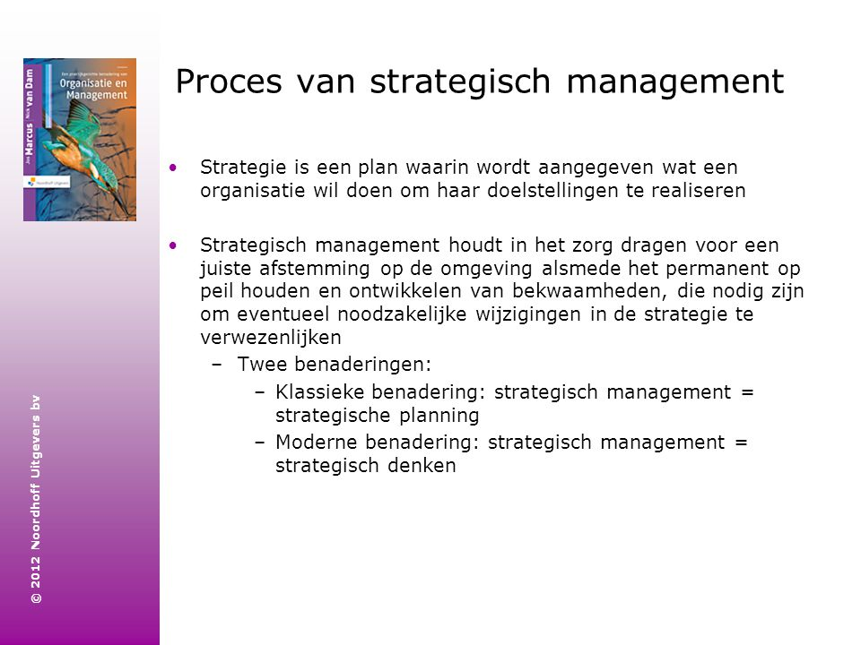 Proces van strategisch management