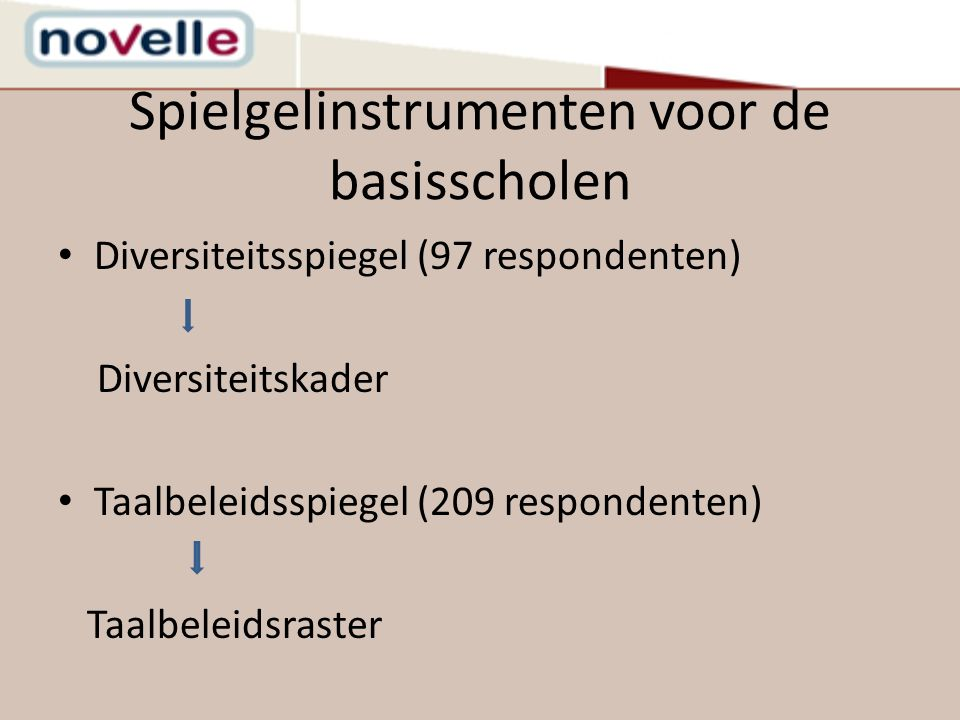 Spielgelinstrumenten voor de basisscholen