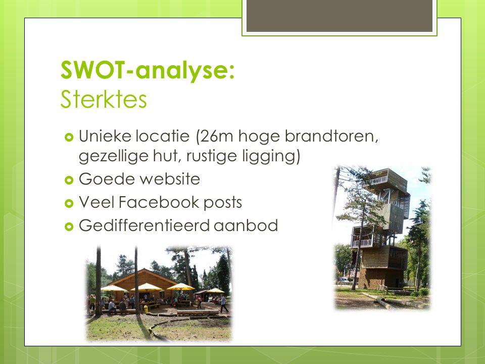 SWOT-analyse: Sterktes