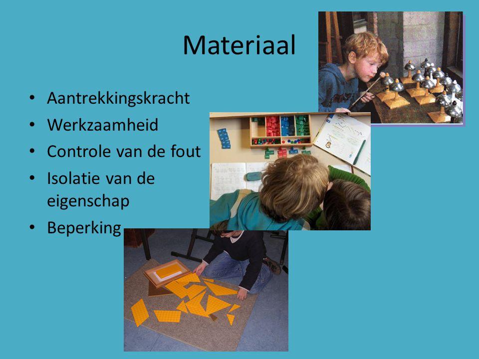 Materiaal Aantrekkingskracht Werkzaamheid Controle van de fout