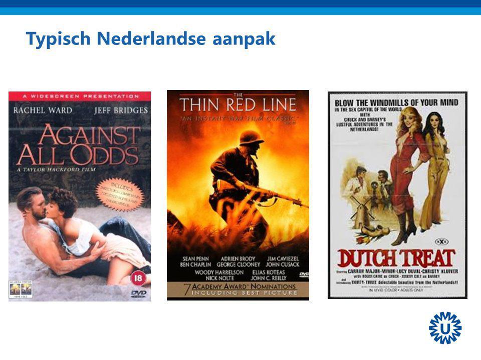 Typisch Nederlandse aanpak