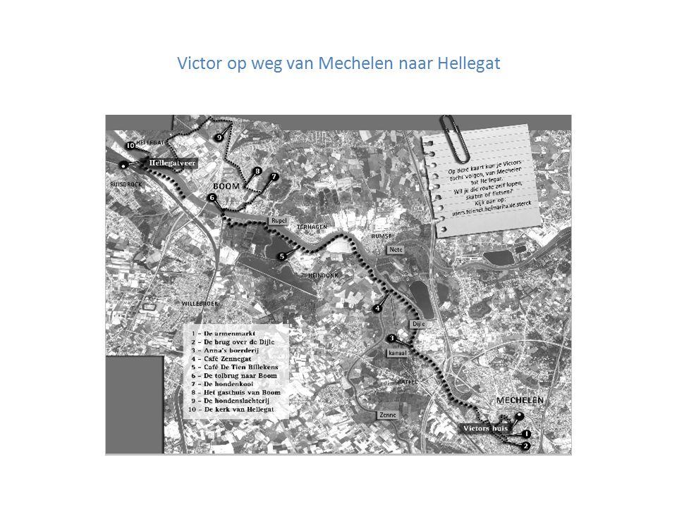 Victor op weg van Mechelen naar Hellegat