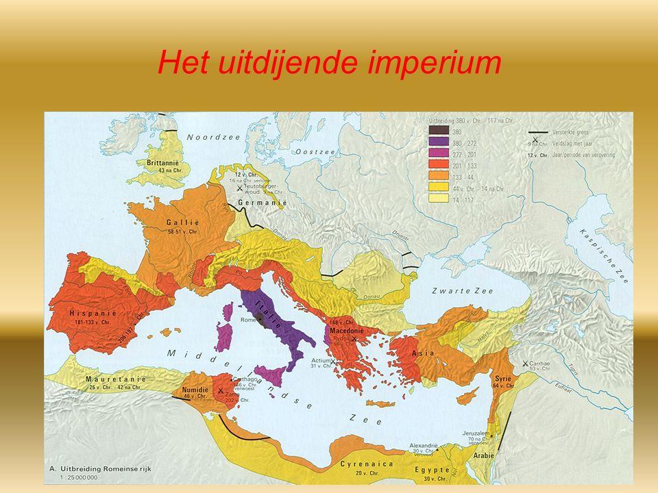 Het uitdijende imperium