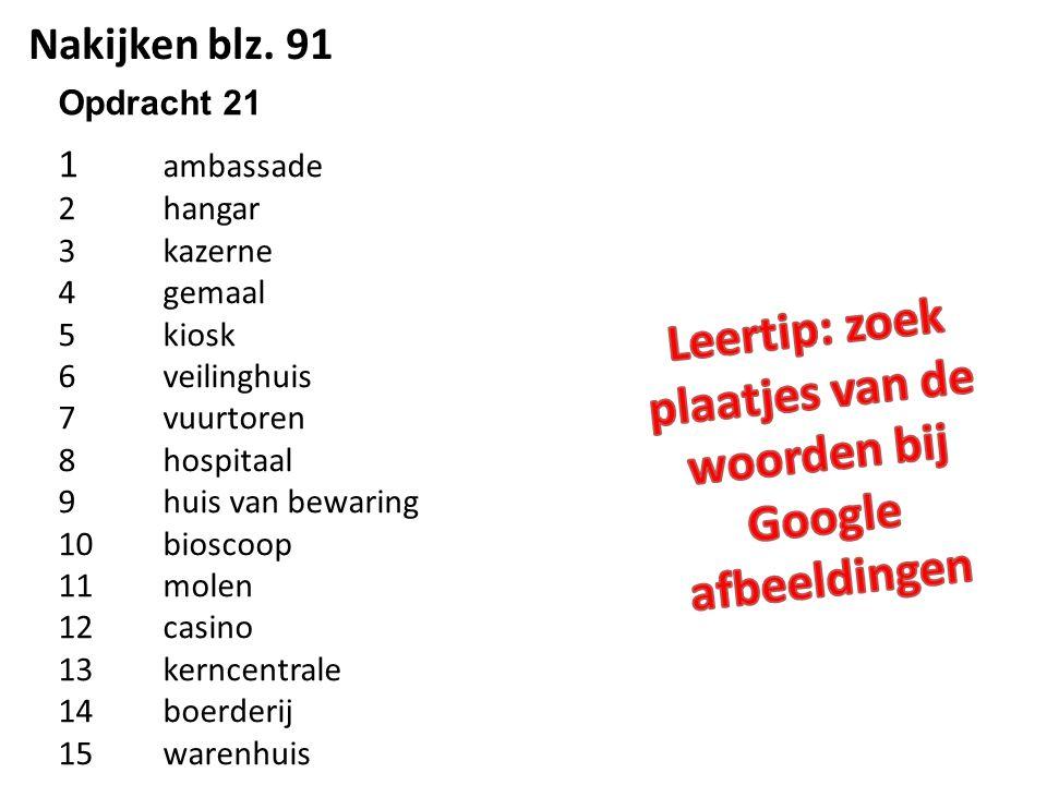 Leertip: zoek plaatjes van de woorden bij Google afbeeldingen