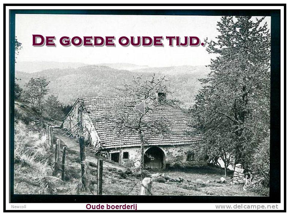De goede oude tijd. Oude boerderij