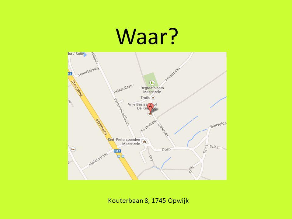 Waar Kouterbaan 8, 1745 Opwijk
