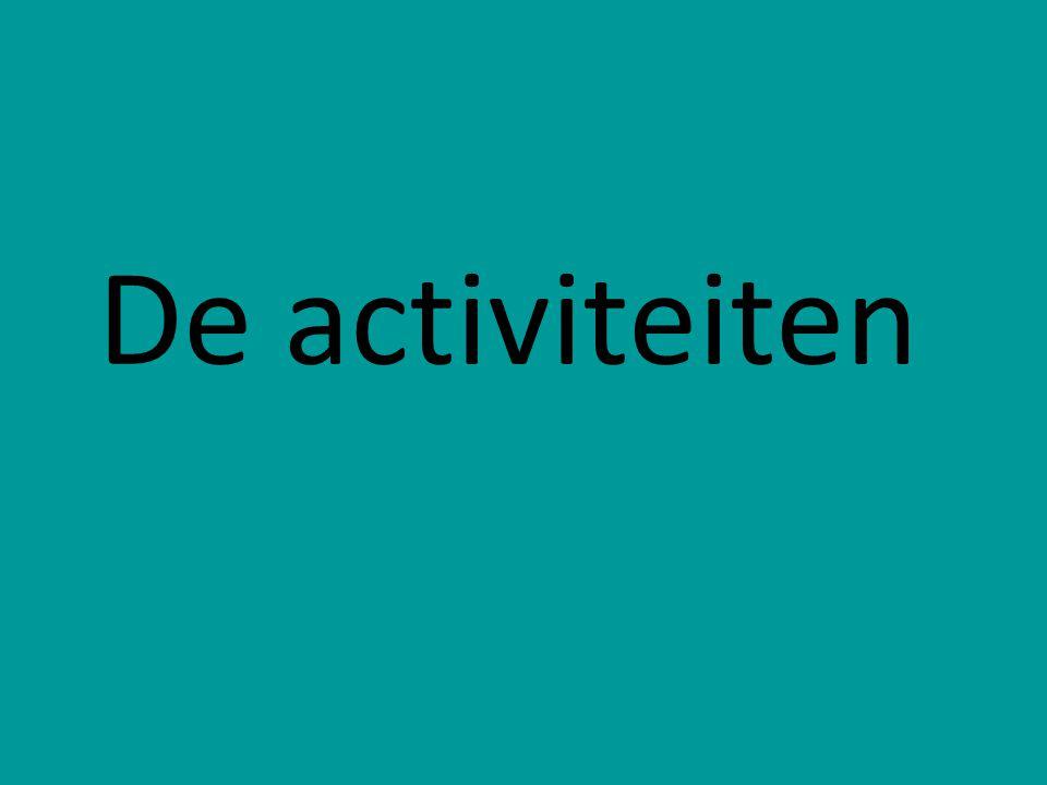 De activiteiten