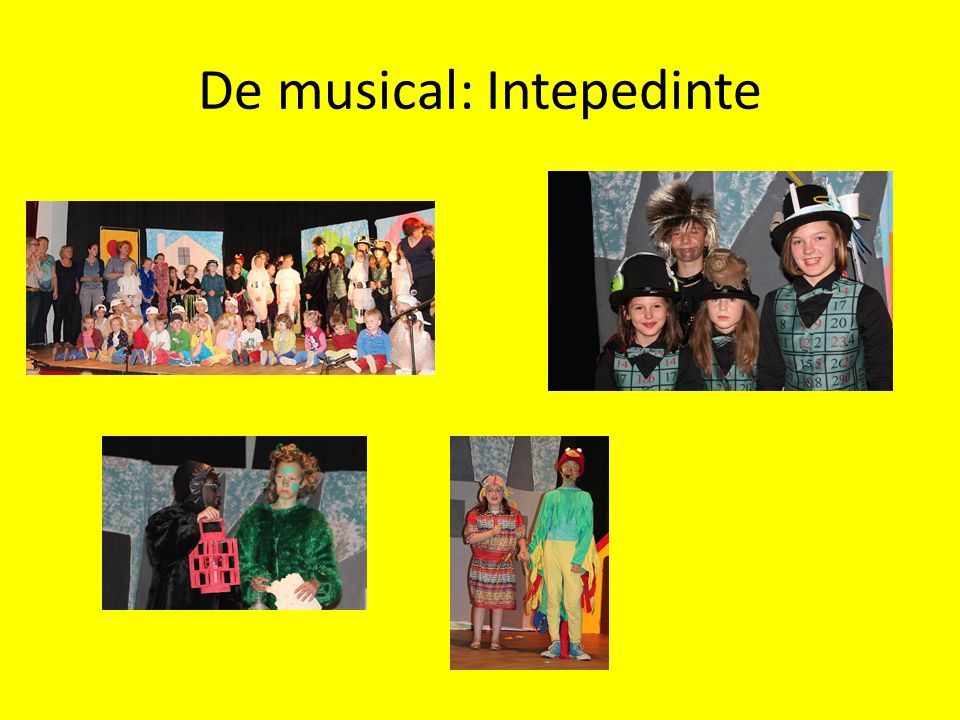 De musical: Intepedinte