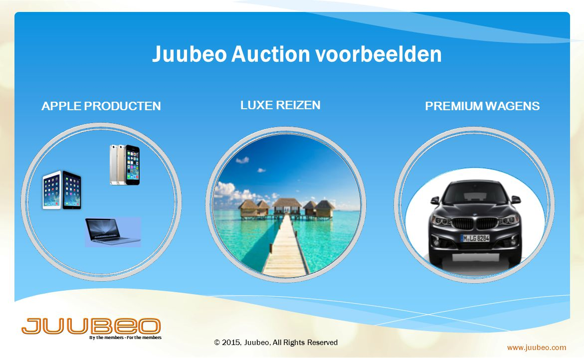 Juubeo Auction voorbeelden