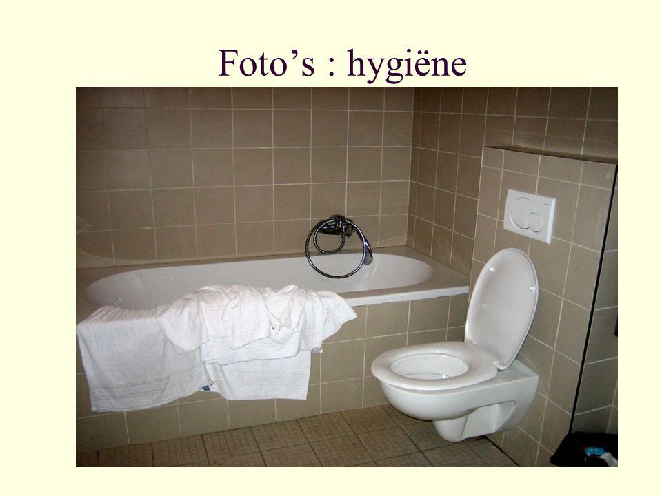 Foto's : hygiëne