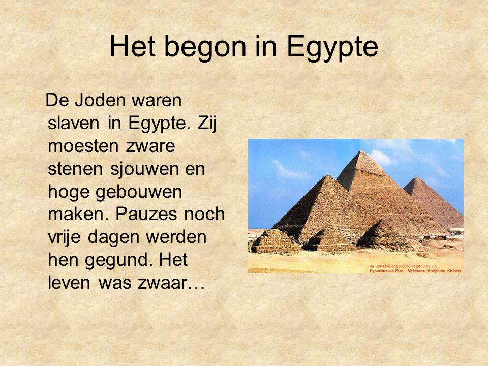 Het begon in Egypte