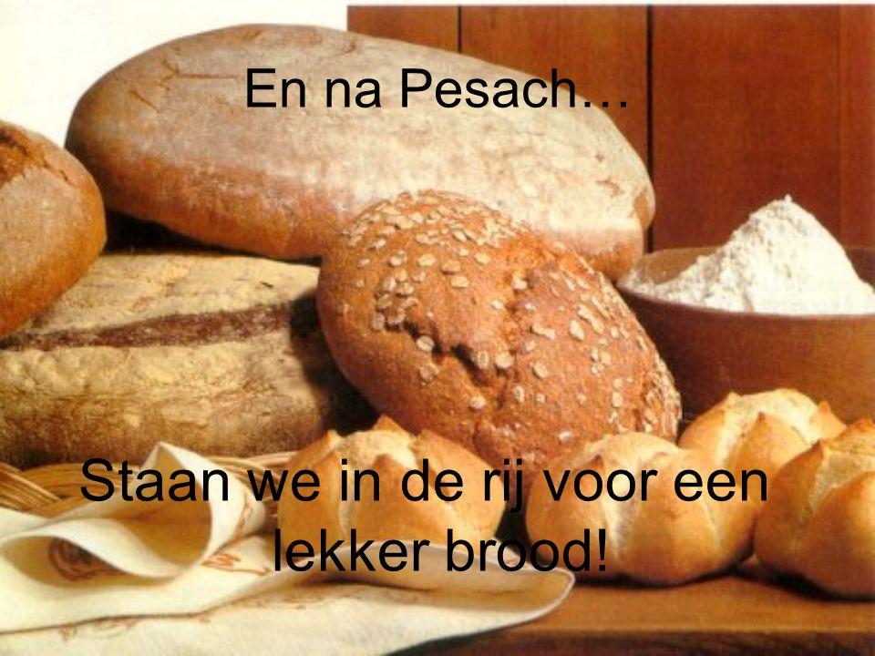 Staan we in de rij voor een lekker brood!