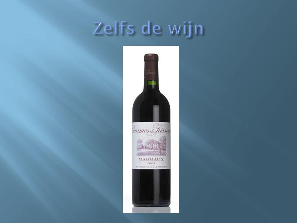 Zelfs de wijn