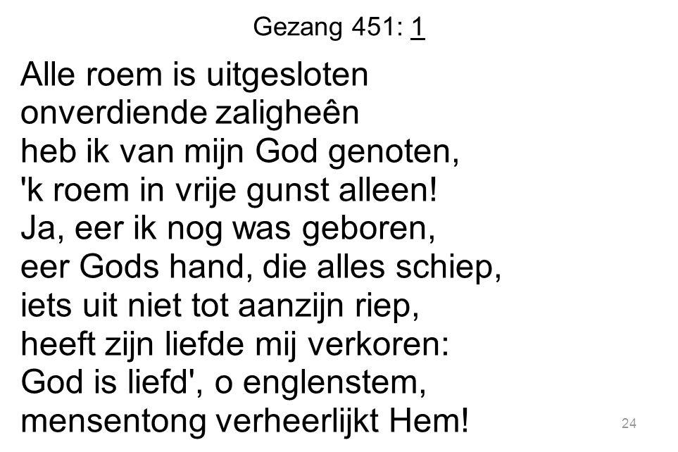Gezang 451: 1