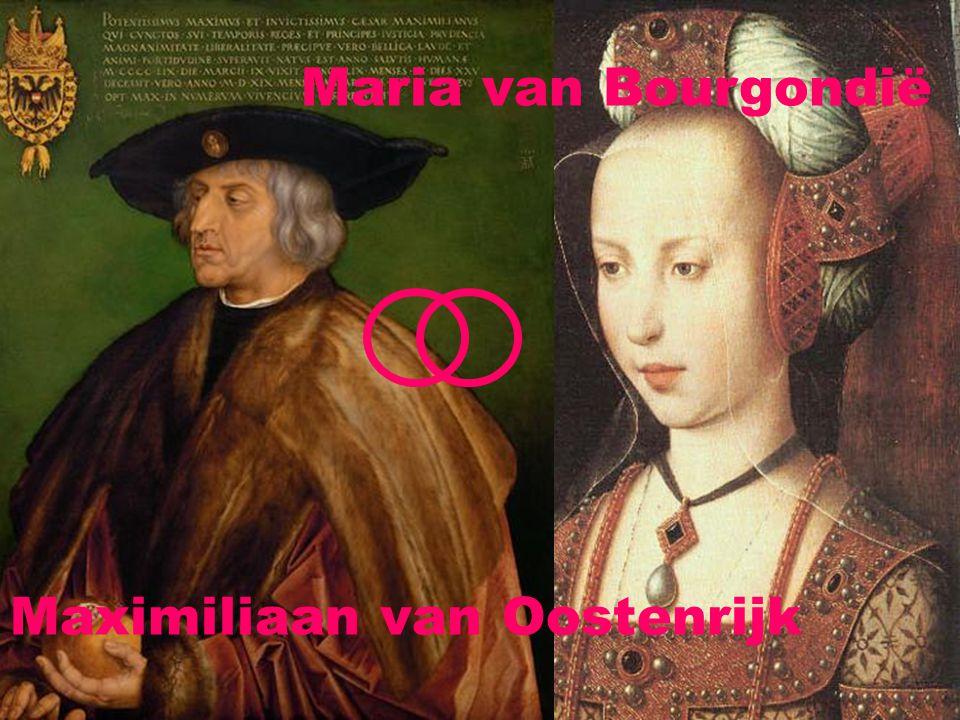 Maria van Bourgondië Maximiliaan van Oostenrijk