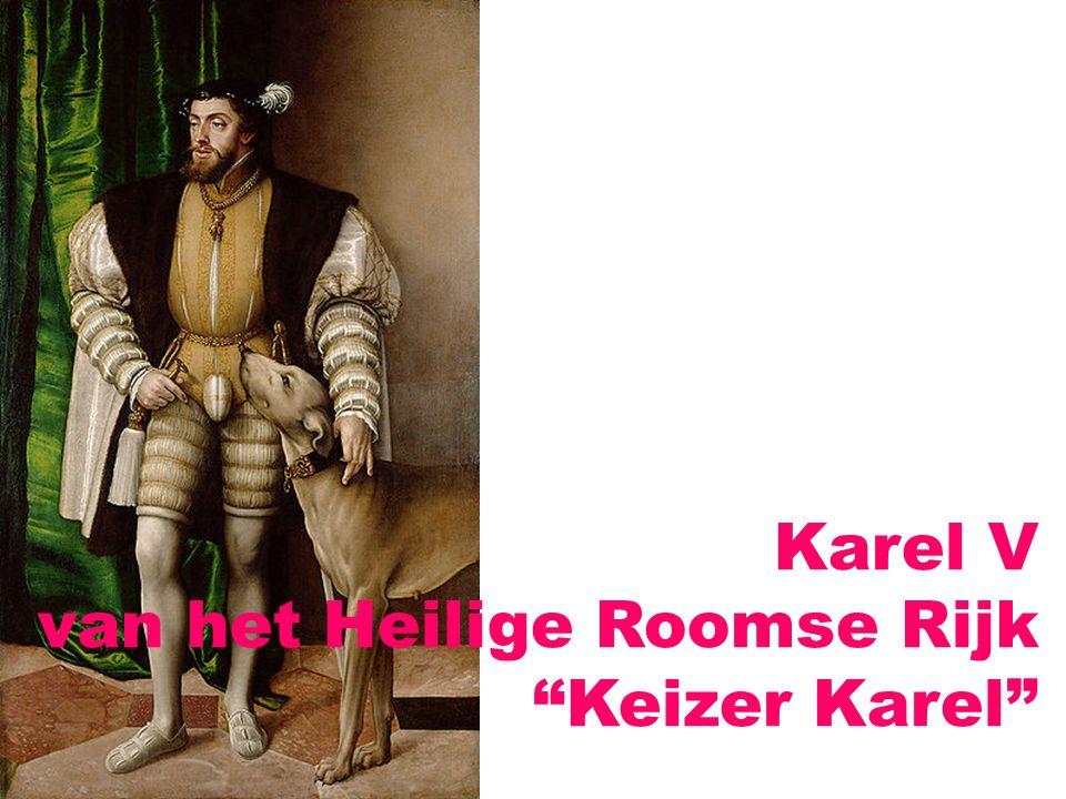 Karel V van het Heilige Roomse Rijk Keizer Karel