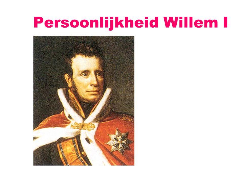 Persoonlijkheid Willem I