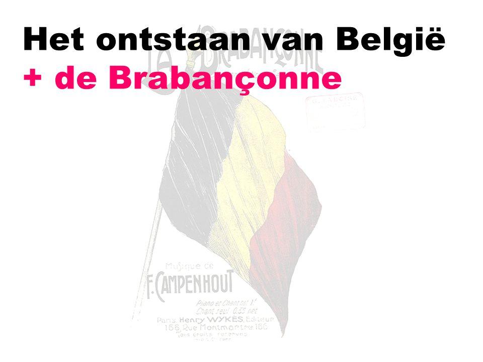 Het ontstaan van België