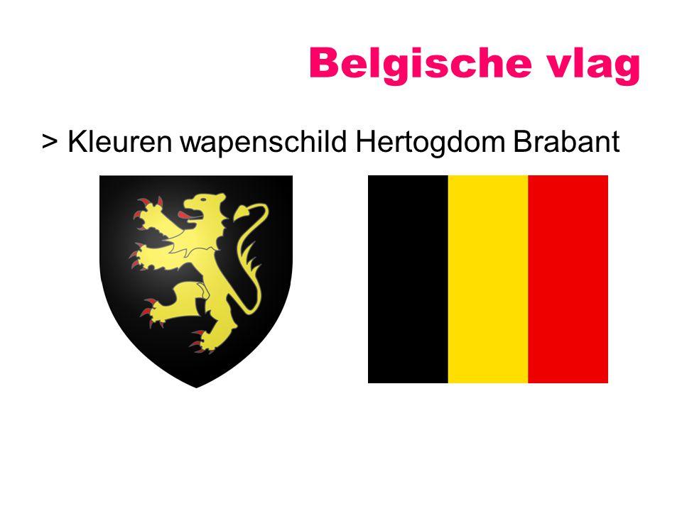 Belgische vlag > Kleuren wapenschild Hertogdom Brabant