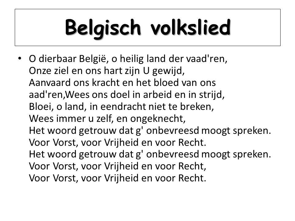 Belgisch volkslied