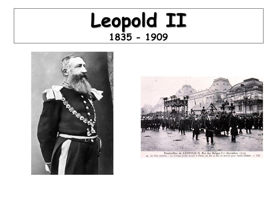 Leopold II 1835 - 1909