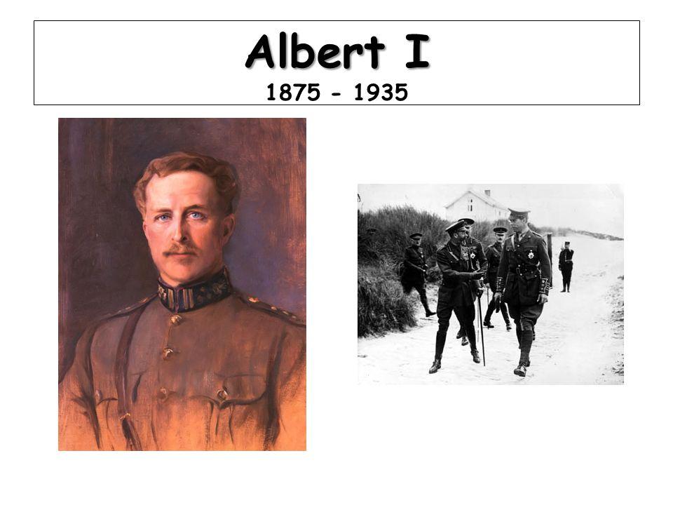 Albert I 1875 - 1935