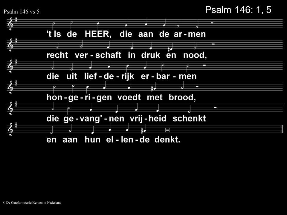 Psalm 146: 1, 5