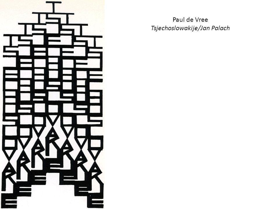 Paul de Vree Tsjechoslowakije/Jan Palach