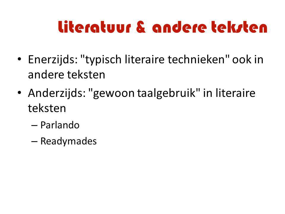 Literatuur & andere teksten