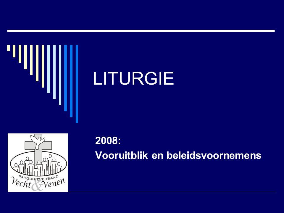 2008: Vooruitblik en beleidsvoornemens