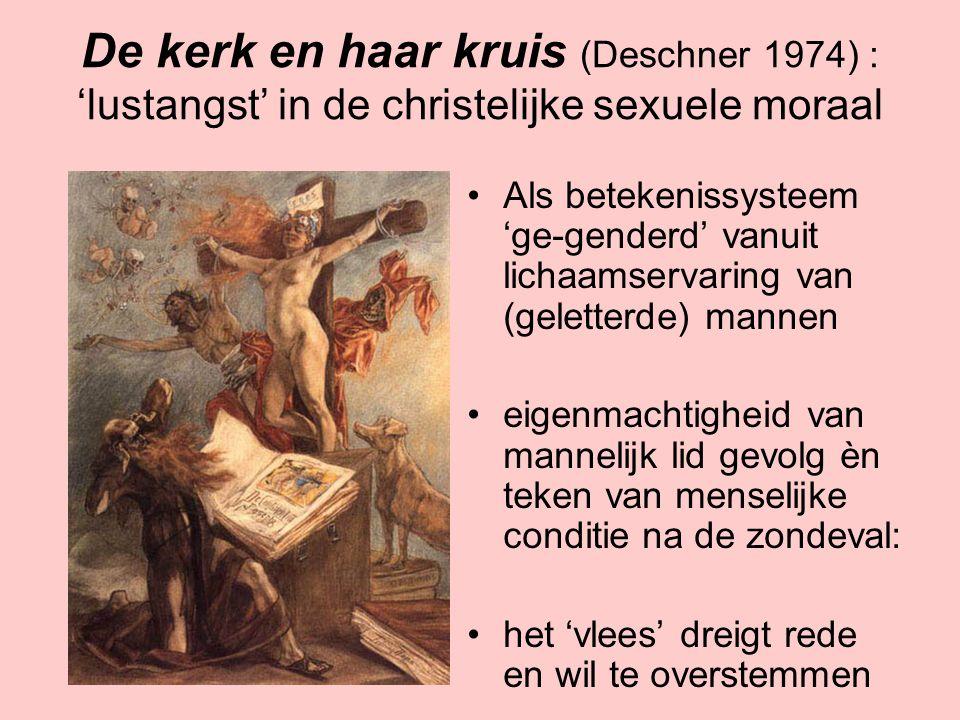 De kerk en haar kruis (Deschner 1974) : 'lustangst' in de christelijke sexuele moraal