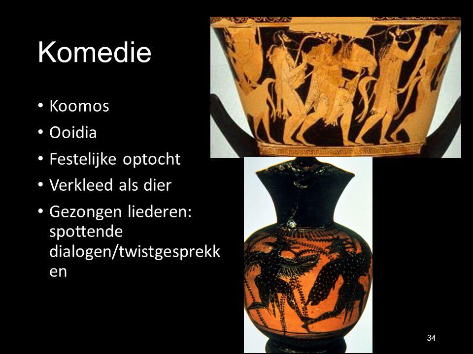 Komedie Koomos Ooidia Festelijke optocht Verkleed als dier