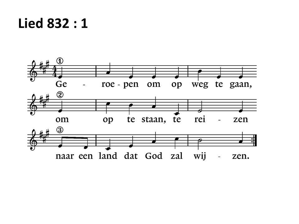 Lied 832 : 1