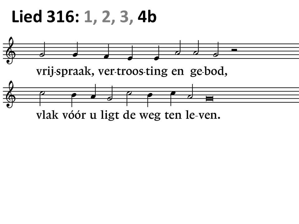 Lied 316: 1, 2, 3, 4b