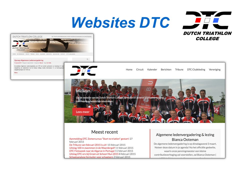 Websites DTC
