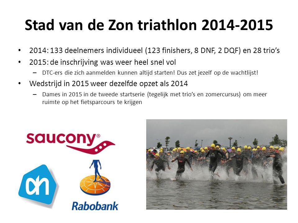 Stad van de Zon triathlon 2014-2015