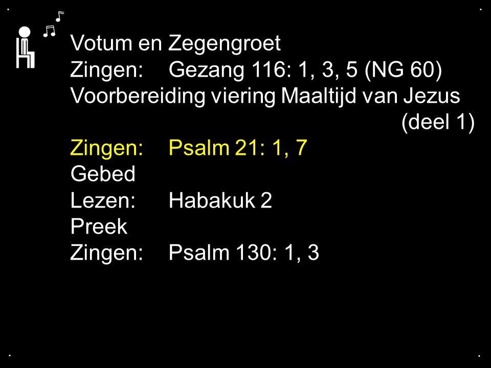 Voorbereiding viering Maaltijd van Jezus (deel 1)